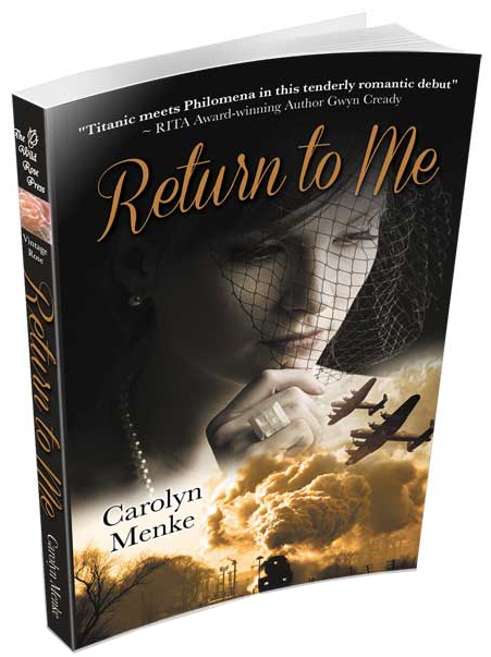 Return to me 3D book cover